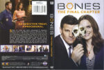 Bones: The Final Chapter (2017) R1 Cover & Label