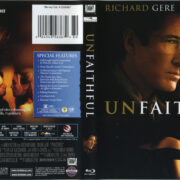 Unfaithful (2002) R1 Blu-Ray Cover & Label
