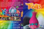Trolls (2016) R1 Custom Cover & Label