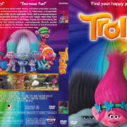 Trolls (2016) R1 Custom Cover & Label