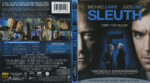 Sleuth (2007) R1 Blu-Ray Cover & Label