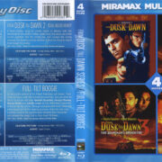 From Dusk Till Dawn Series + Full Tilt Boogie (2011) R1 Blu-Ray Cover & Label