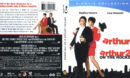 Arthur / Arthur 2: On The Rocks (1981-1988) R1 Blu-Ray Cover & Label