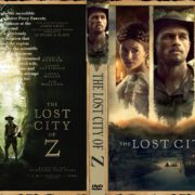 The Lost City of Z (2016) R0 CUSTOM cover & label