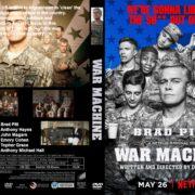 War Machine (2016) R0 CUSTOM Cover & Label
