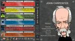 John Carpenter Collection- Volume 1 (1974-1986) R1 Custom Blu-Ray Cover