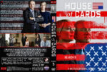 House of Cards – Season 5 (2017) R1 Custom Cover & Labels