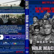 War Machine (2017) R1 CUSTOM Cover & Label