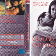 Color of Night (1994) R2 German Cover & label