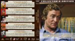 Michael Caine 6-Movie Collection (1964-1987) R1 Custom Blu-Ray Cover