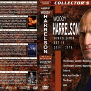 Woody Harrelson Film Collection – Set 11 (2014-2016) R1 Custom Covers
