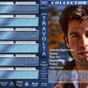 John Travolta 6-Movie Collection – Volume 1 (1977-1994) R1 Custom Blu-Ray Cover