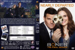 Bones – Season 12 (2016) R1 Custom Cover & Labels