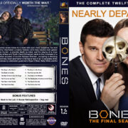 Bones - Season 12 (2016) R1 Custom Cover & Labels