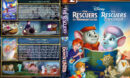 The Rescuers Double Feature (1977-1990) R1 Custom Cover