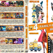 Despicable Me 1-3 & Minions (2010-2017) R1 Custom Cover