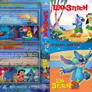 Lilo & Stitch Double Feature (2002-2005) R1 Custom Blu-Ray Cover