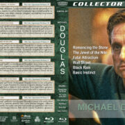 Michael Douglas 6-Movie Collection (1984-1992) R1 Custom Blu-Ray Cover