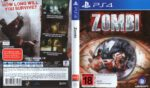 Zombi (2015) PAL PS4 Cover & Label
