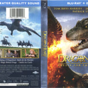 Dragonheart: Battle For The Heartfire (2017) R1 Blu-Ray Cover & Label