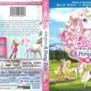 Barbie and her Sisters in A Pony Tale (2013) R1 Blu-Ray Cover