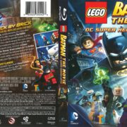 Lego Batman the Movie (2017) R1 Blu-Ray Cover