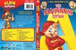 Alvin and the Chipmunks Alvinnn Edition (2008) R1 DVD Cover
