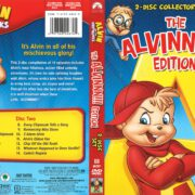 Alvin and the Chipmunks Alvinnn Edition (2008) R1 DVD Cover