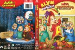 Alvin and the Chipmunks Alvin's Thanksgiving Celebration (2008) R1 DVD Cover