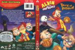 Alvin and the Chipmunks Trick or Treason (2008) R1 DVD Cover