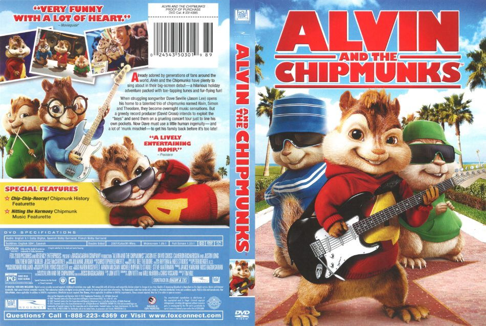 alvin and the chipmunks 2007 dvd cover