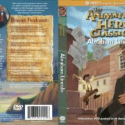 Animated Hero Classics Abraham Lincoln (2005) R1 DVD Cover