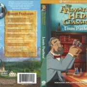 Animated Hero Classics Louis Pasteur (2005) R1 DVD Cover