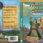Animated Hero Classics Maccabees The Story of Hanukkah (2005) R1 DVD Cover