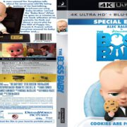 The Boss Baby (2017) R1 Custom 4K UHD Blu-Ray Cover