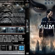 Die Mumie (2017) R2 GERMAN Custom DVD Cover