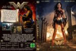 Wonder Woman (2017) R2 GERMAN Custom DVD Cover