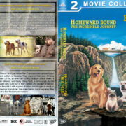 Homeward Bound Double Feature (1993-1996) R1 Custom Cover