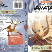 Avatar, the Last Airbender: Book 1: Water Volume 1 (2006) R1 Cover