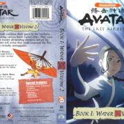 Avatar, the Last Airbender: Book 1: Water Volume 2 (2006) R1 Cover