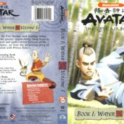 Avatar, the Last Airbender: Book 1: Water Volume 3 (2006) R1 Cover