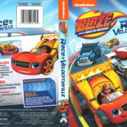 Blaze and the Monster Machines: Race into Velocityville (2016) R1 DVD Cover