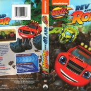 Blaze and the Monster Machines: Rev Up and Roar (2015) R1 DVD Cover
