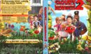 Cloudy with a Chance of Meatballs 2 (2013) R1 DVD Cover