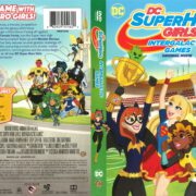 DC Superhero Girls Intergalactic Games (2017) R1 DVD Cover