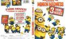 Despicable Me: Minion Madness (2011) R1 DVD Cover