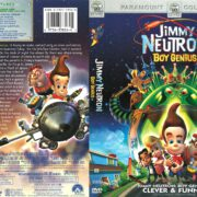 Jimmy Neutron: Boy Genius (2001) R1 DVD Cover