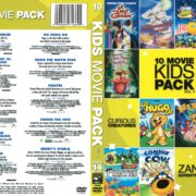 10 Movie Kids Pack (2011) R1 DVD Cover