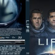 Life (2017) R2 German Custom Blu-Ray Cover & Label