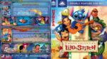 Lilo & Stitch Double Feature (2002-2005) R1 Custom Blu-Ray Cover V2